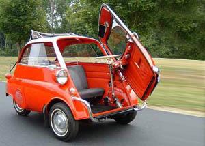Minicar Iso Isetta. Negli anni 50 la BMW scommetteva sulle minicar