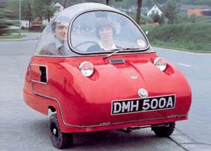 Peel ricostruirà le minicar degli anni 60