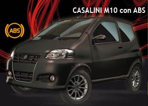 Casalini M10, la prima minicar con ABS (sistema anti bloccaggio)