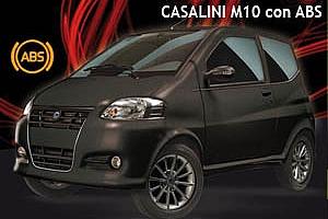 Casalini M10. La prima minicar con l'ABS è italiana