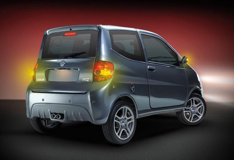 Casalini M12. Ecco la minicar italiana definitiva