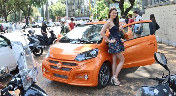 Casalini M14 con la modella Cristina Boboc